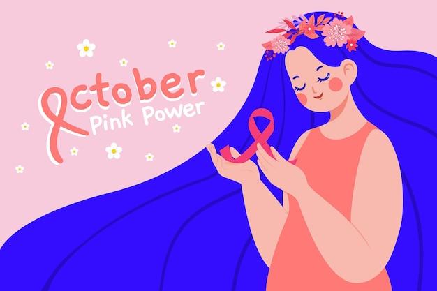 Motyw świadomości raka piersi