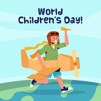 Motyw światowego dnia dziecka