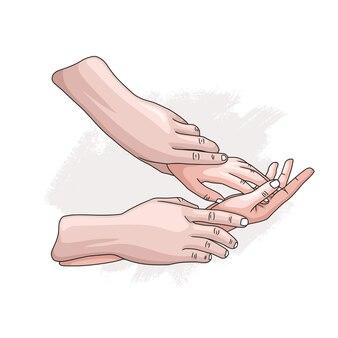 Motyw światowego dnia zdrowia seksualnego z ręcznie rysowanym stylem 2