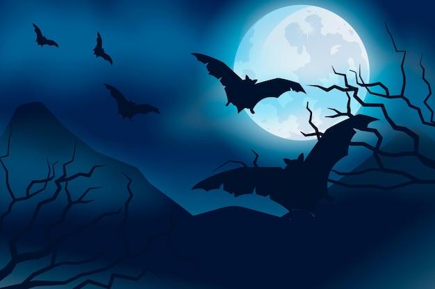 Motyw tapety halloween