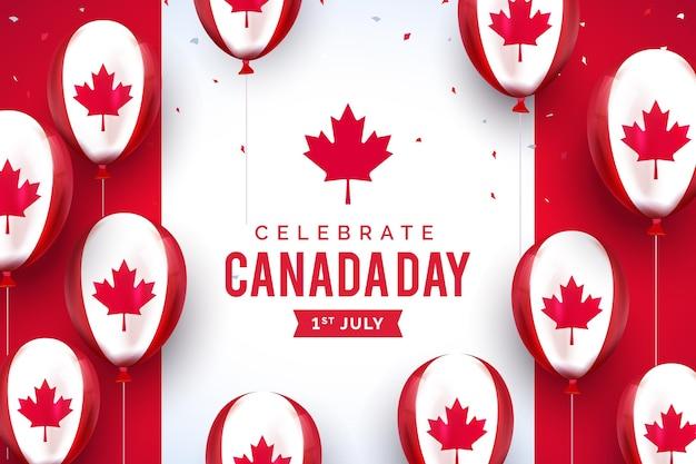 Motyw tła dzień kanady