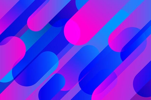 Motyw tła nakładających się kształtów