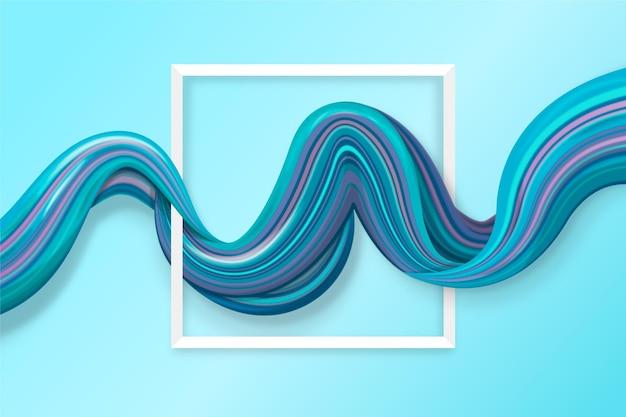 Motyw tła przepływu koloru