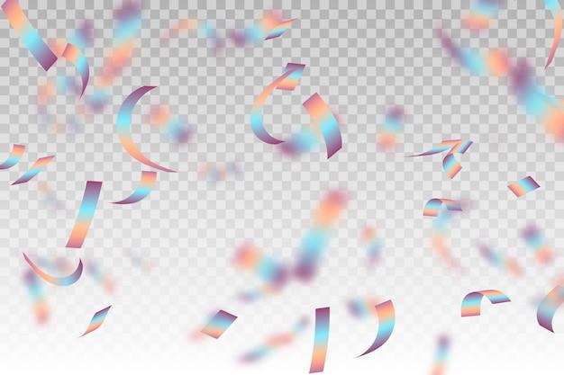 Motyw tła realistyczne konfetti
