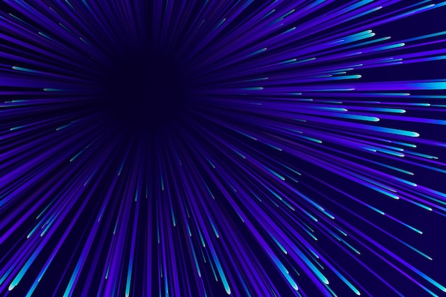 Motyw tła świateł prędkości