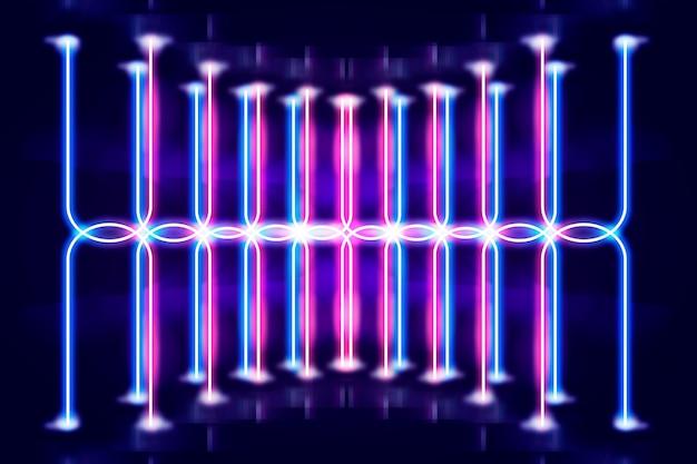 Motyw tła światła neonowego