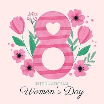 Motyw wydarzenia międzynarodowego dnia kobiet