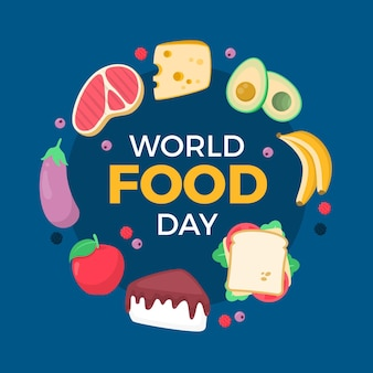 Motyw wydarzenia światowego dnia żywności