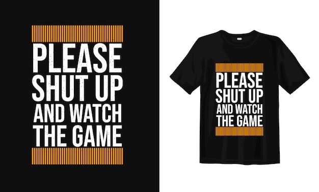 Motywacja i inspirująca typografia słów. projekt koszulki