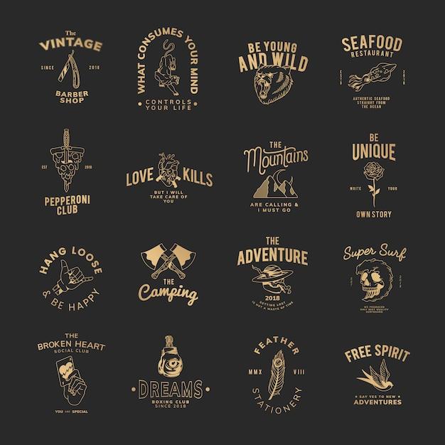 Motywacyjna kolekcja znaczków