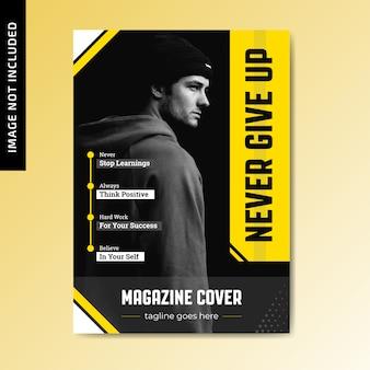 Motywacyjna okładka magazynu