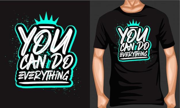 Możesz zrobić wszystko typografią pędzla