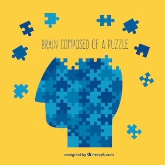 Mózg składa się z puzzli
