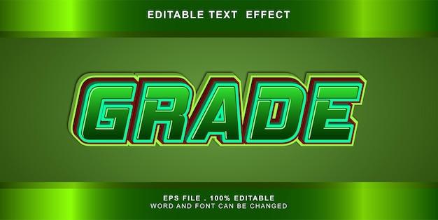 Możliwość edycji efektu tekstu