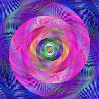 Multicolor fraktalna tle