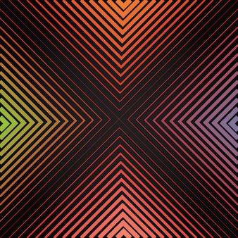 Multicolor symetryczne tło