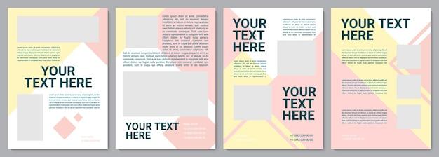 Multicolor unikalny szablon broszury. katalog firmowy. ulotka, broszura, druk ulotek, projekt okładki z miejscem na kopię. twój tekst tutaj. układy wektorowe czasopism, raportów rocznych, plakatów reklamowych