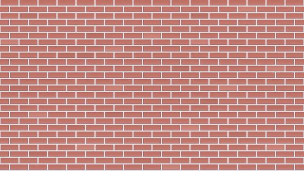 Mur z cegły bez szwu.