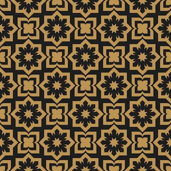 Muzułmański geometryczny ozdobny streszczenie arabeska wzór