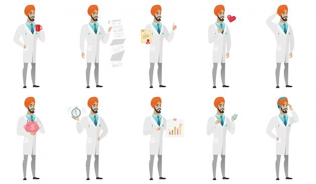 Muzułmański zestaw lekarzy