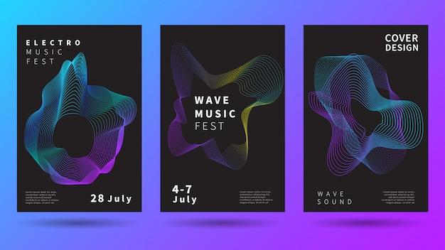 Muzyczny plakat festiwalowy