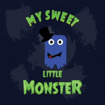 My sweet niebieski potwór ikona