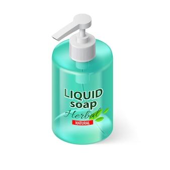 Mydło w płynie izometryczne