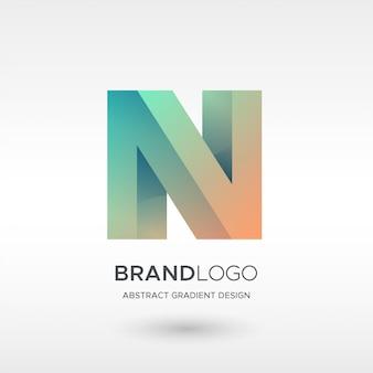 N gradientowe logo
