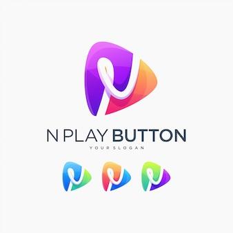 N przycisk odtwarzania odtwórz multimedia