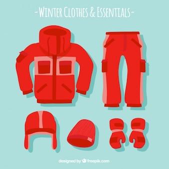 Na co dzień zimy odzież paczka
