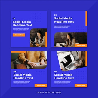 Nagłówek w mediach społecznościowych