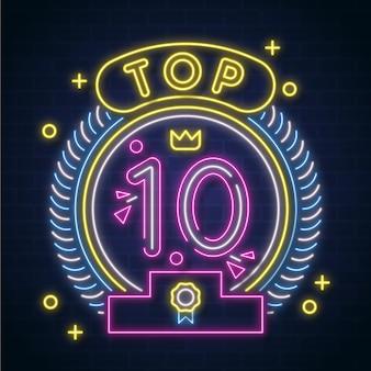 Nagroda neon top 10