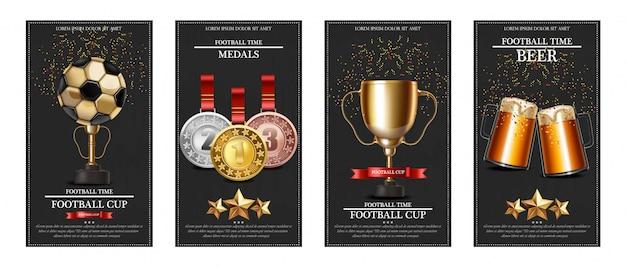 Nagroda piłkarska i medale