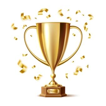 Nagroda w postaci złotego trofeum