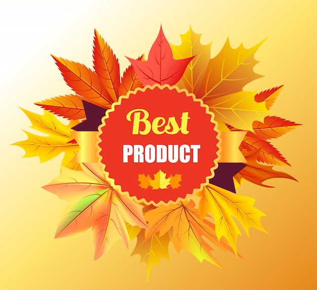 Nagroda za najlepszy produkt z motywem liści klonu