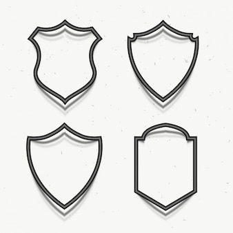 Nagrody odznaki symbol 3d stylu