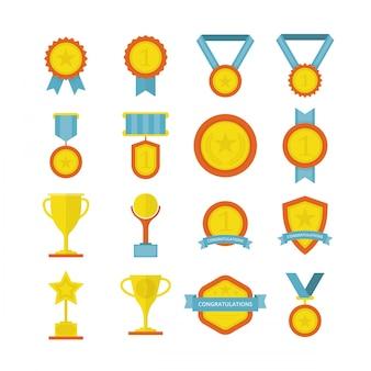 Nagrody w zakresie osiągnięcia płaskiego