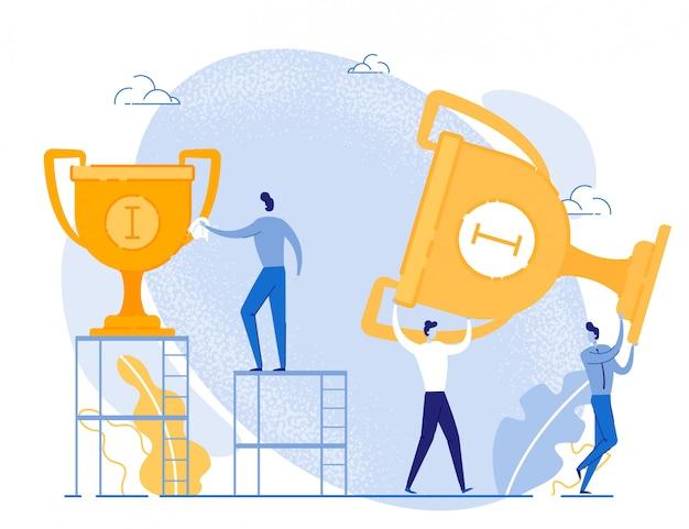 Nagrody za osiągnięcie celu i sukces biznesowy