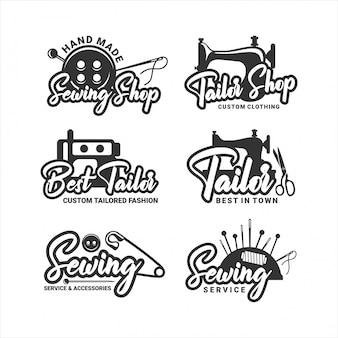 Najlepsze logo usług krawieckich i akcesoriów