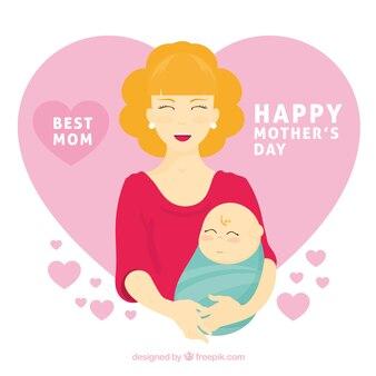 Najlepsze tło mama na dzień matki