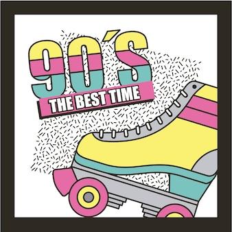 Najlepszy czas wrotki 90s