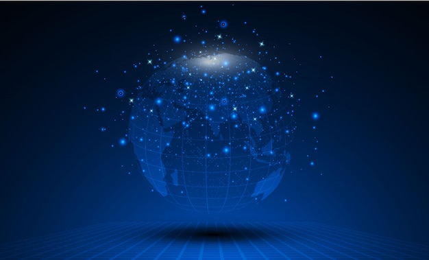 Najlepszy internet koncepcja globalnego biznesu od serii koncepcji.
