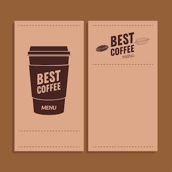 Najlepszy kubek do kawy z motywem ramek z papieru