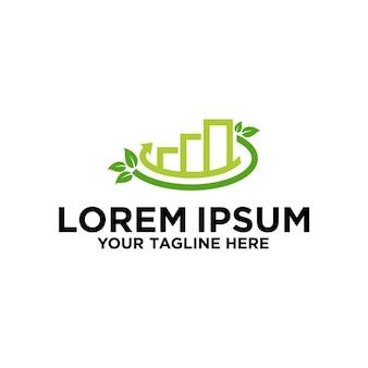 Najlepszy projekt logo green investment