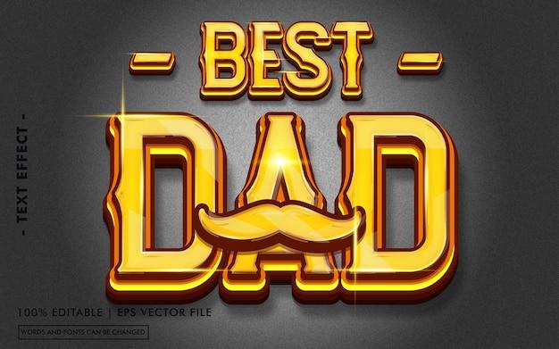 Najlepszy styl efektów tekstowych dla taty