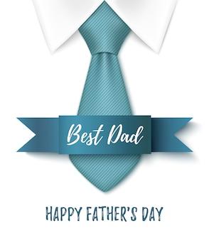 Najlepszy tata, szczęśliwy dzień ojców tło.
