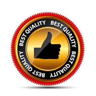 Najlepszy Wybór Etykiety Z Czerwoną Wstążką. Ilustracja Wektorowa Eps10 Premium Wektorów