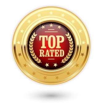 Najwyżej oceniany medal - ocena złotych insygniów