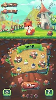 Nakarm fox gui dopasuj 3 okno mapy