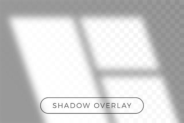 Nakładaj cień naturalnego oświetlenia w stylu realizmu z przezroczystą nakładką efektu cienia.